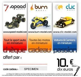 Divers Chèque cadeau 10 euros  autre