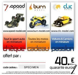 Divers Chèque cadeau 40 euros  autre