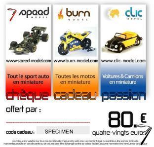 Divers Chèque cadeau 80 euros  autre