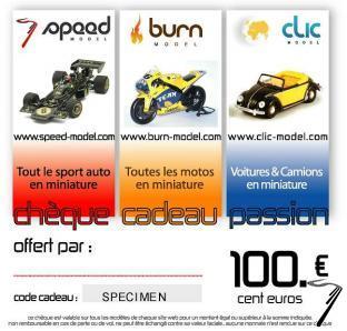 Divers Chèque cadeau 100 euros  autre