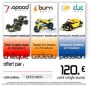 Divers Chèque cadeau 120 euros  autre