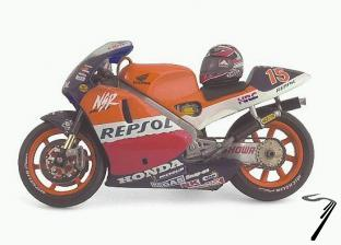 Honda NSR/V2 500 cc  1/24
