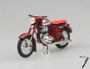 Jawa 350 Automatic rouge  1/18