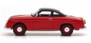 Porsche Teram Puntero rouge noir - Argentine Teram Puntero rouge noir - Argentine 1/43