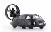 Divers . Schlorwagen avec turbine, noire - Allemagne 1/43