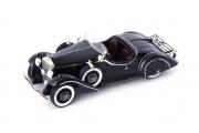 Mercedes . Roadster Amilcar noir - Allemagne / France 1/43