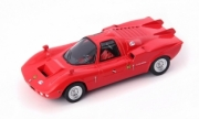Alfa Romeo FNM Furia GT rouge - Brésil FNM Furia GT rouge - Brésil 1/43