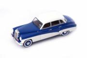 Wartburg . - Mercedes 170V Bleu / Blanc - Allemagne de l'Est 1/43