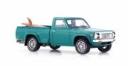 Mazda . Rotary Pick-Up (avec surf) turquoise - Japon 1/43