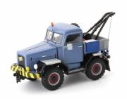 Divers . Kramer U800 4WD tow truck gris-bleu - Allemagne 1/43