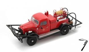 Dodge . WDX Power Wagon Brush Breaker - USA 1/43