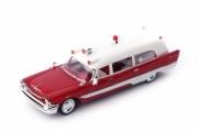 Divers . Soto Firesweep Memphian Ambulance rouge - USA 1/43