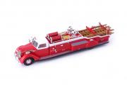 Divers . Diamond T City Service Ladder truck Pompier - USA 1/43
