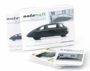 Divers . Fiches descriptives de la collection Autocult - volume 1 - (2 x 32 fiches - Anglais et Allemand) 1/43