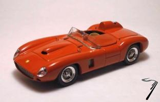 Ferrari 290 MM Rouge MM Rouge 1/43