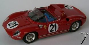 Ferrari 250 P 1er  24H Le Mans  1/43