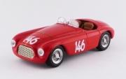 Ferrari 166 MM Barchetta #146 1er coupe d'or des Dolomites  1/43