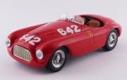Ferrari 166 MM Barchetta #642 Mille Miglia  1/43
