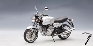 Ducati GT 1000 argent  1/12