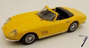 Ferrari 275 GTB/4 Spider Jaune Cabriolet GTB/4 Spider Jaune 1/43