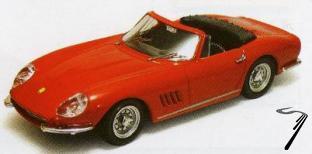 Ferrari 275 GTB/4 Spider Rouge GTB/4 Spider Rouge 1/43