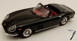 Ferrari 275 GTB/4 Spider Noir Cabriolet GTB/4 Spider Noir 1/43