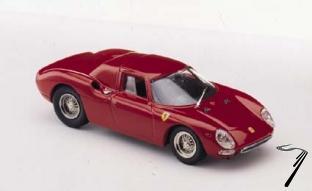 Ferrari 250 LM Rouge Rouge Prova 1/43