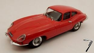 Jaguar E Coupé Rouge Rouge 1/43