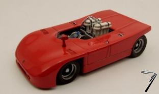 Porsche 908/3 Rouge