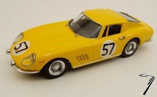 Ferrari 275 GTB/4 #57 24H Le Mans  1/43