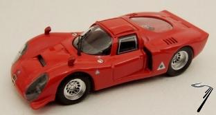 Alfa Romeo . 33.2 Rouge 1/43