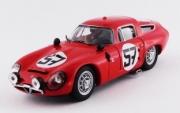 Alfa Romeo TZ1 #57  13eme 24H du Mans - 1er GT1.6  1/43
