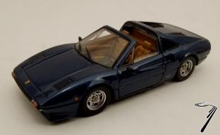 Ferrari 308 GTS bleu GTS Bleu 1/43