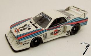 Lancia Beta Montecarlo #28 Silverstone  1/43