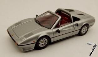 Ferrari 308 GTS gris métalisé GTS Gris Métal 1/43