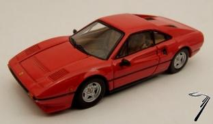 Ferrari 308 GTB 4 soupapes rouge GTB 4 Soupapes Rouge 1/43