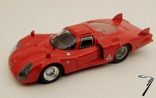 Alfa Romeo 33.2 Longue Queue test  1/43
