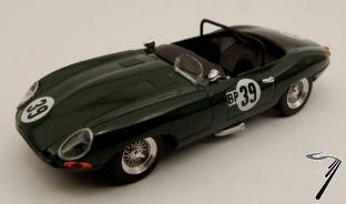 Jaguar Type E spyder N°39 Virginia International Raceway  1/43
