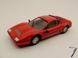 Ferrari 512 BB rouge BB Rouge 1/43