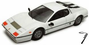 Ferrari 512 BB blanche BB Blanc 1/43