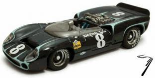 Lola T 70 Spider Watkins-Glen  1/43