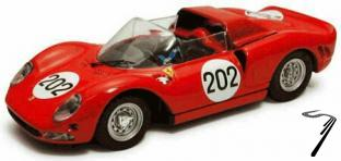 Ferrari 275P2 #202 Targa Florio  1/43
