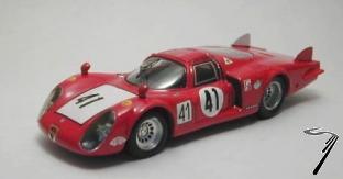 Alfa Romeo 33.2 N°41 24H Le Mans  1/43