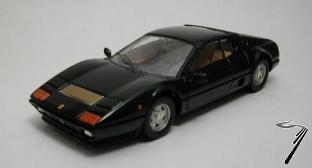 Ferrari 512BB noir BB noir 1/43