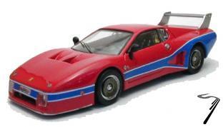 Ferrari 512 Silhouette test  1/43