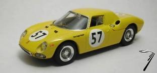 Ferrari 250 LM #57 Francorchamps  1/43