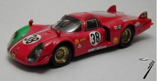 Alfa Romeo 33.2 N°38  24H Le Mans  1/43