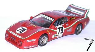 Ferrari 512 BB N°79  24H Le Mans  1/43