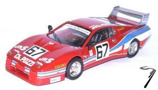 Ferrari 512 BB LM N°67  24H Daytona  1/43