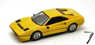 Ferrari 208 GTB Turbo Jaune GTB Turbo Jaune 1/43